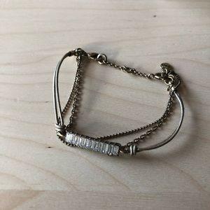 Leather Baguette Bracelet